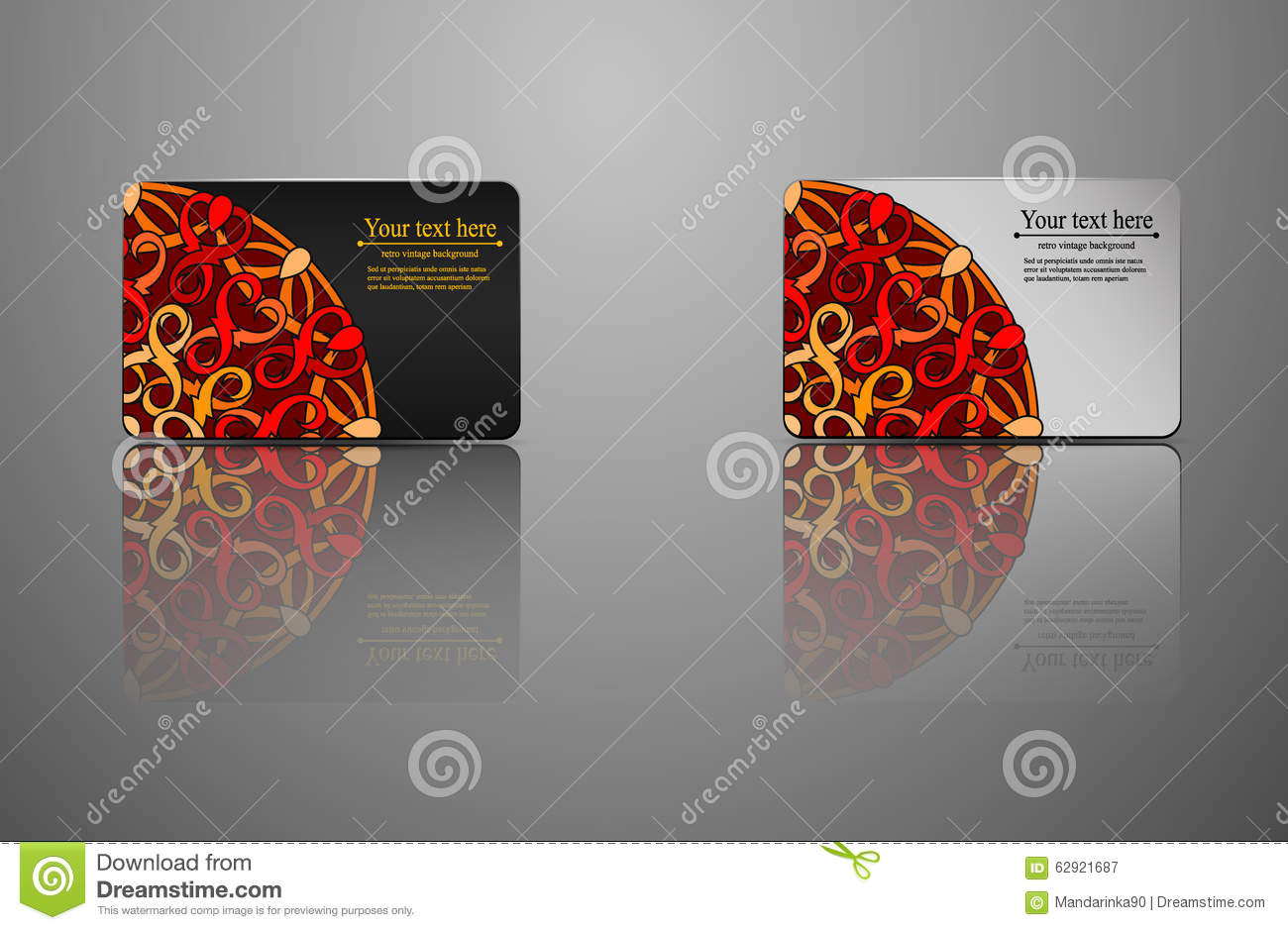 Template gift card credit card business card an invitation stock template gift card credit card business card an invitation accmission Image collections