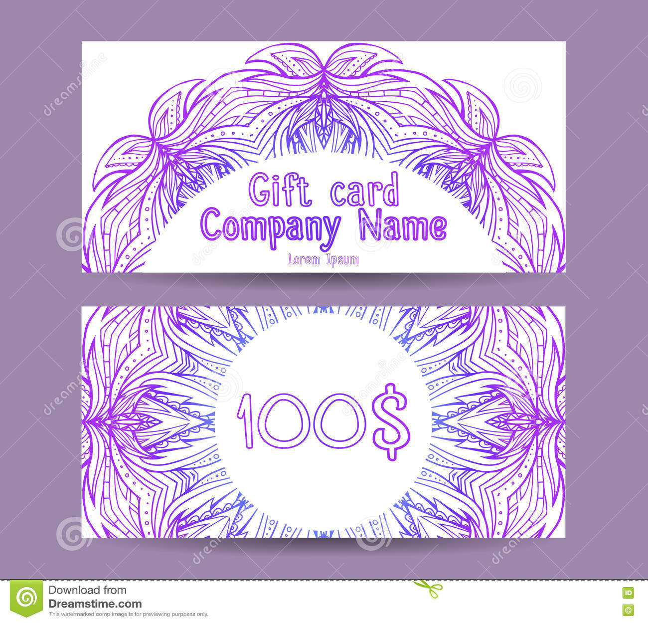 yoga gift certificate template free - template gift certificate for yoga studio spa center