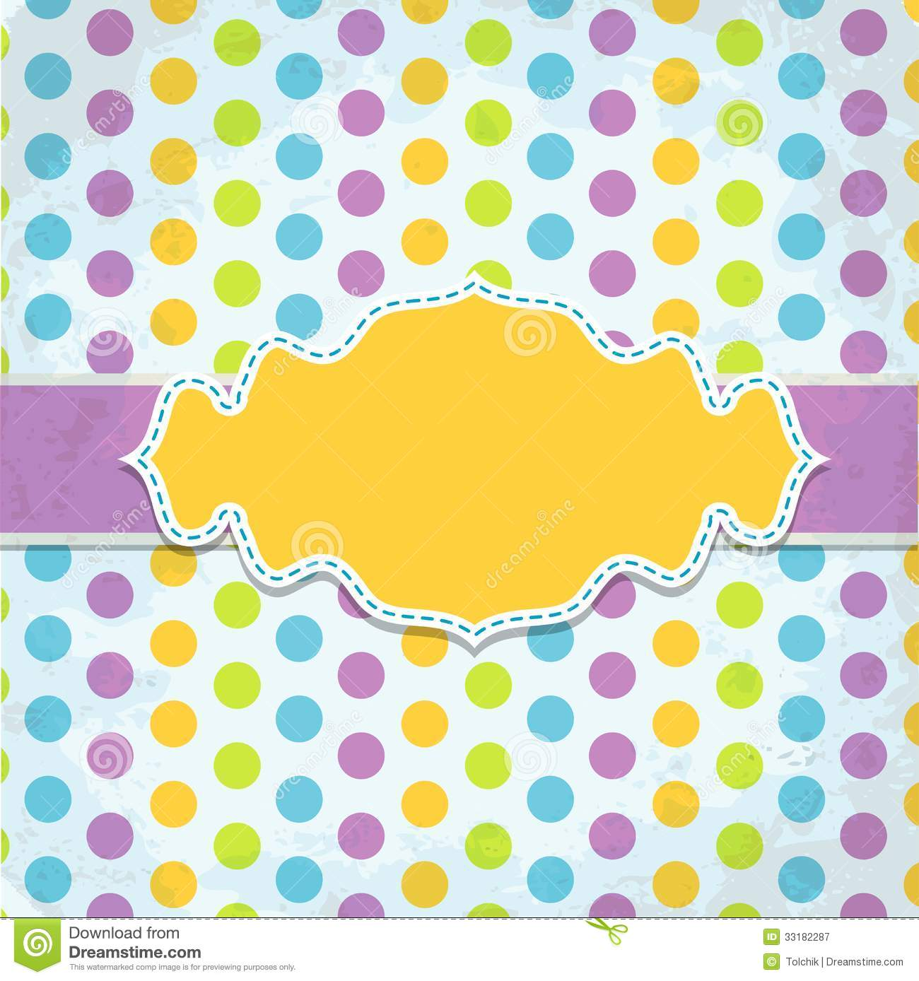 Template Greeting Card Royalty Free Stock Image: Template Greeting Card, Vector Royalty Free Stock