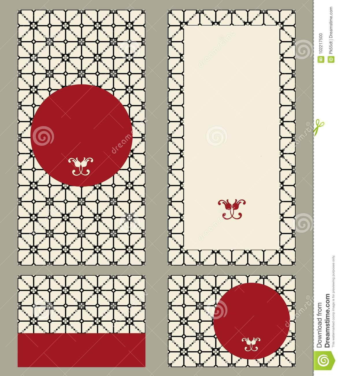 Template Greeting Cards, Invitations And Advertising Banners ...