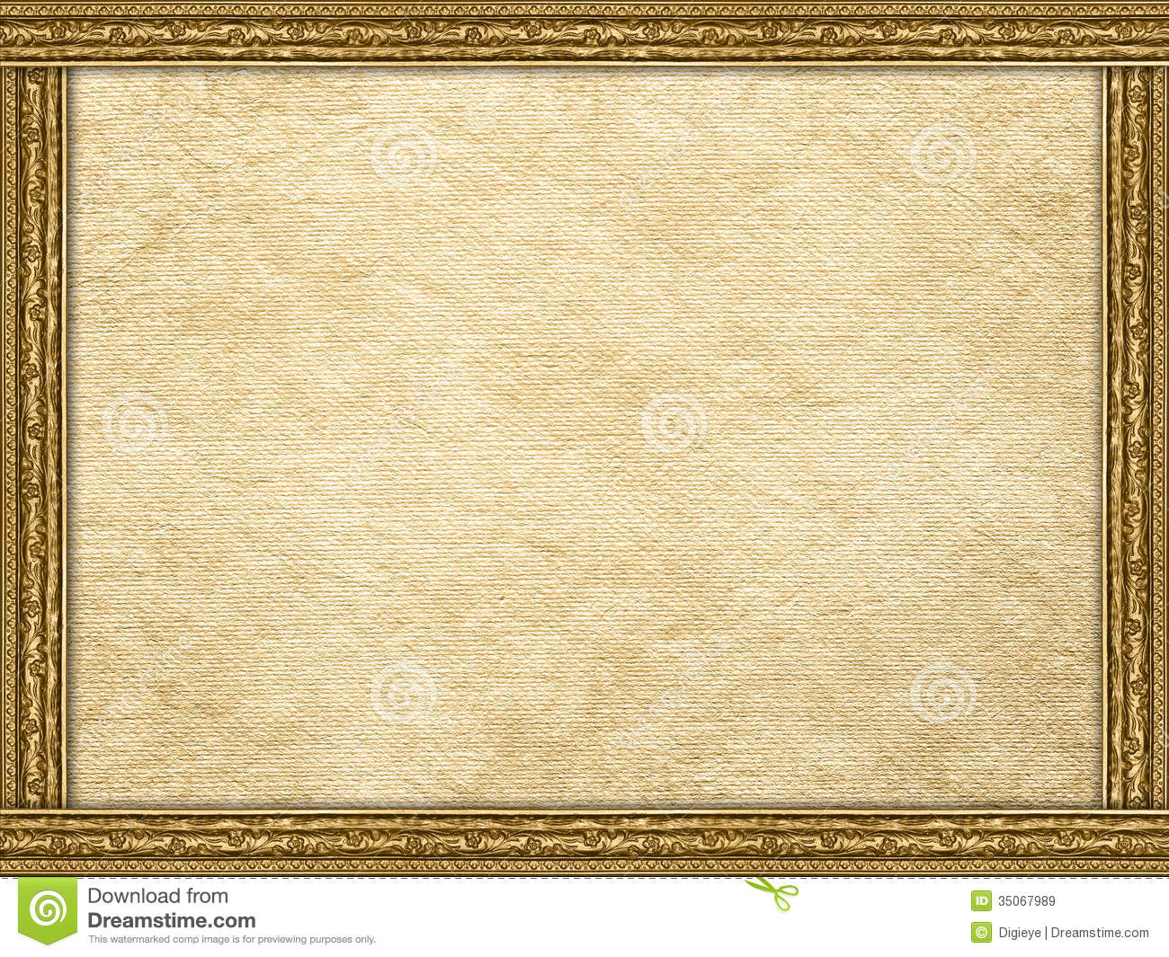 Template - Handmade Paper Sheet And Picture Frame Stock Image ...