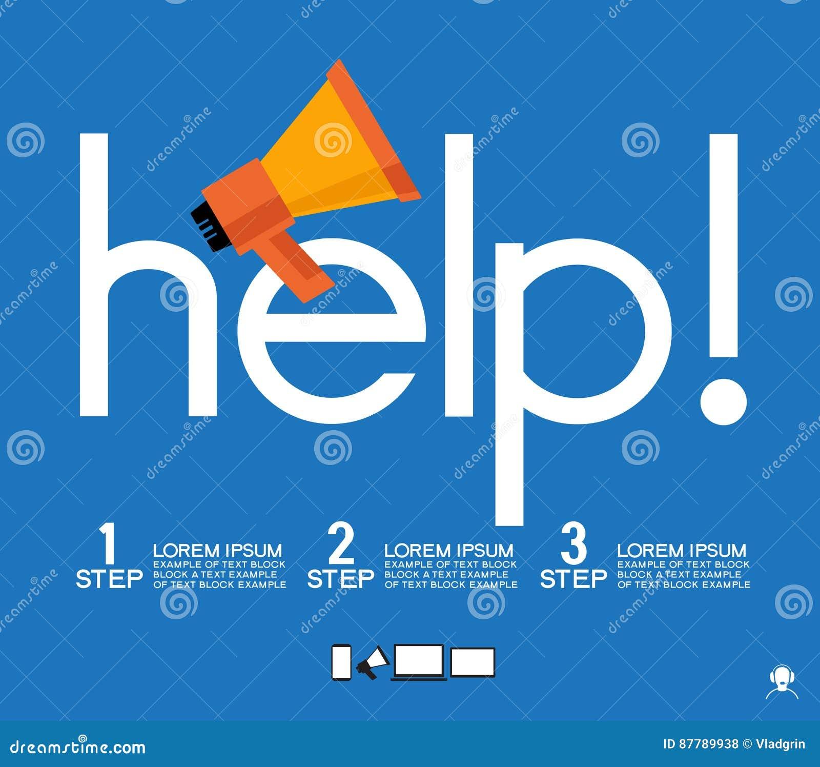 template help background vector illustration 87789938. Black Bedroom Furniture Sets. Home Design Ideas
