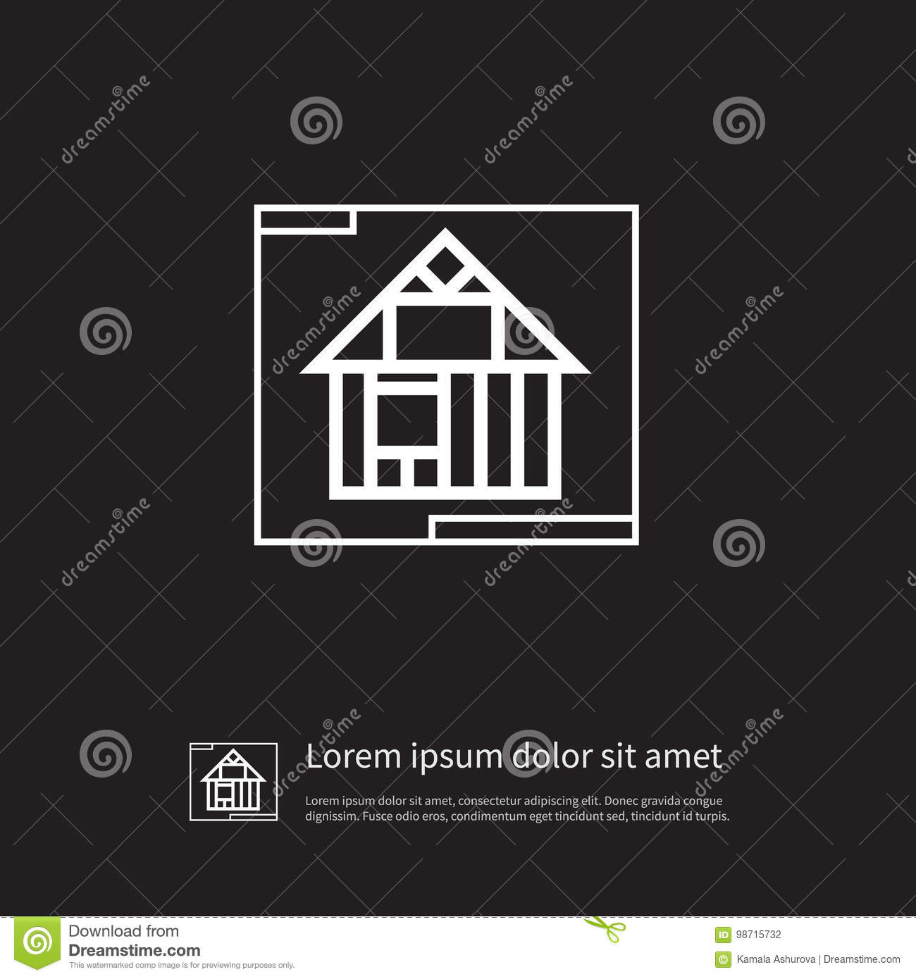 Template icon construction vector element can be used for template download comp malvernweather Images
