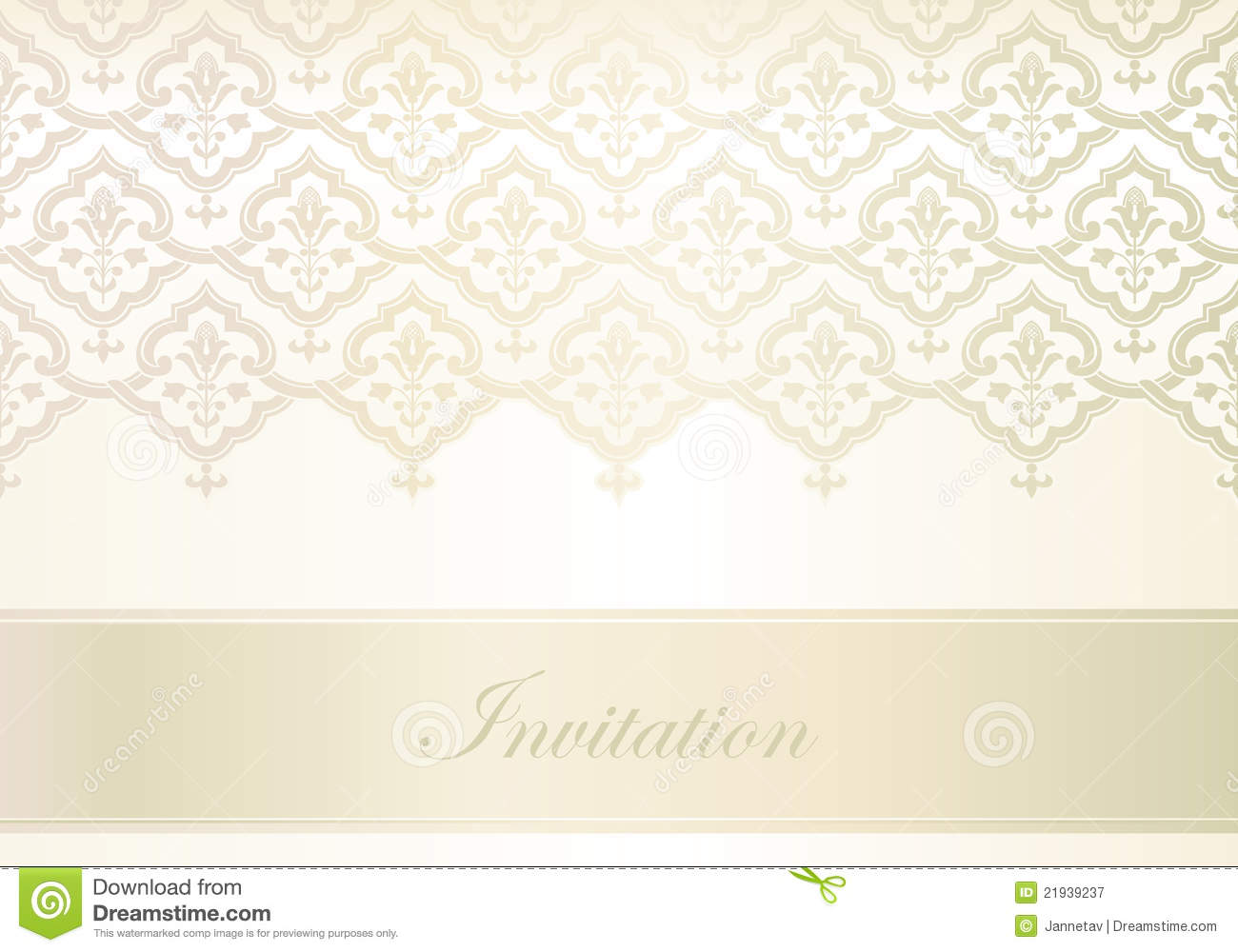 Template For Invitation Card Stock Vector - Illustration of design ...