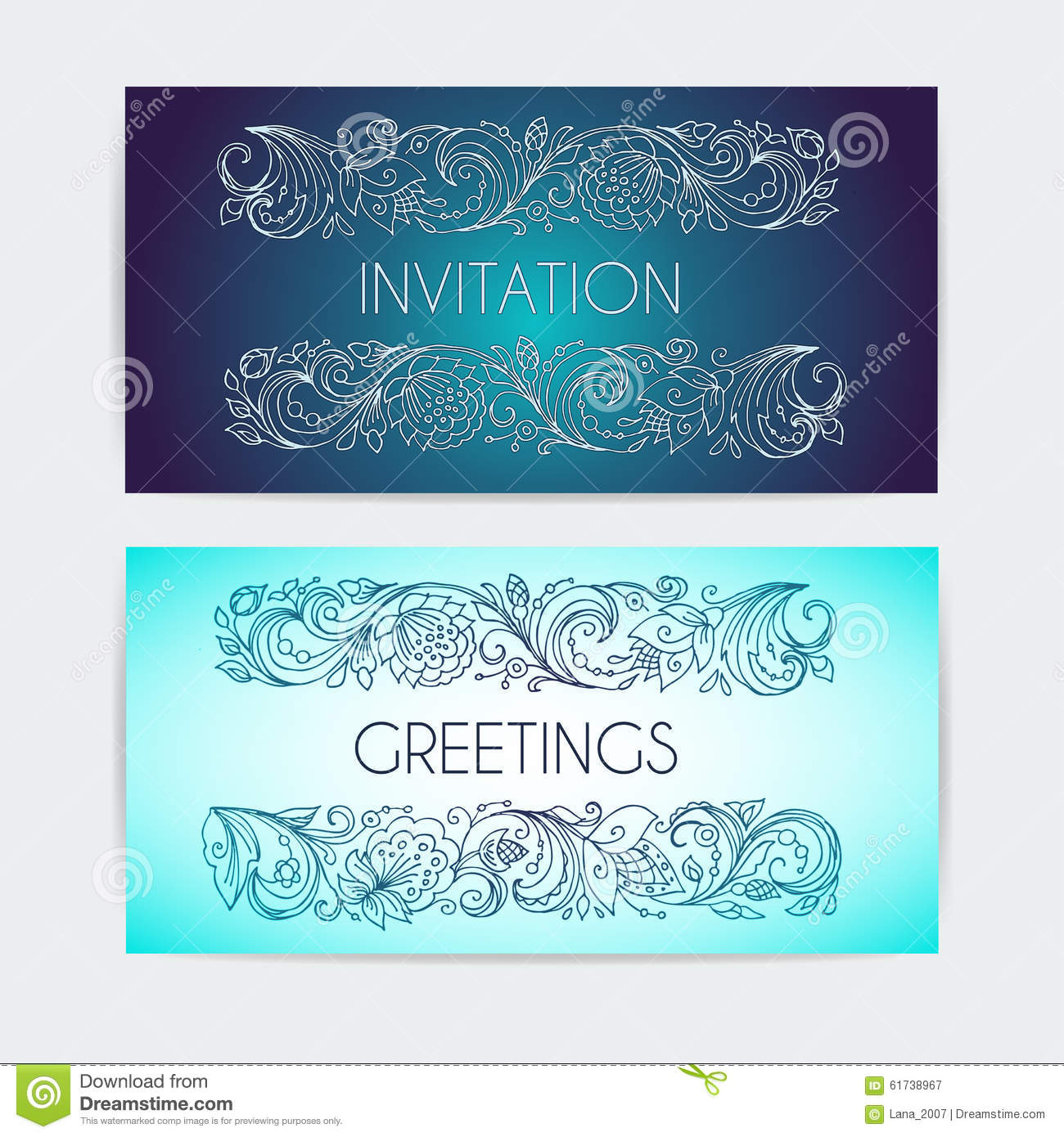 template invitation congratulation vegetable patterned border in