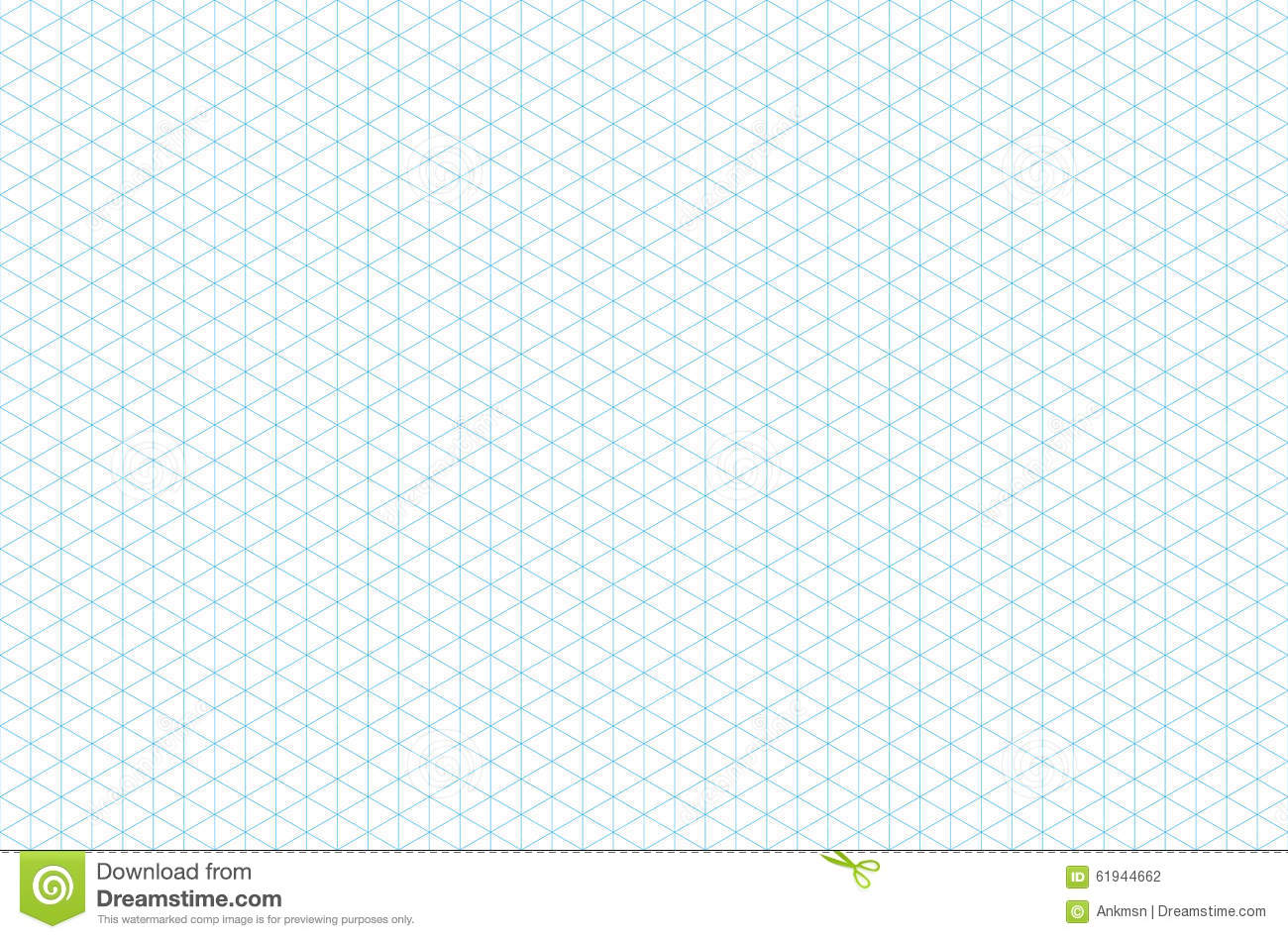 graphic relating to Printable Isometric Paper titled Template Isometric Grid Seamless Habit Inventory Vector