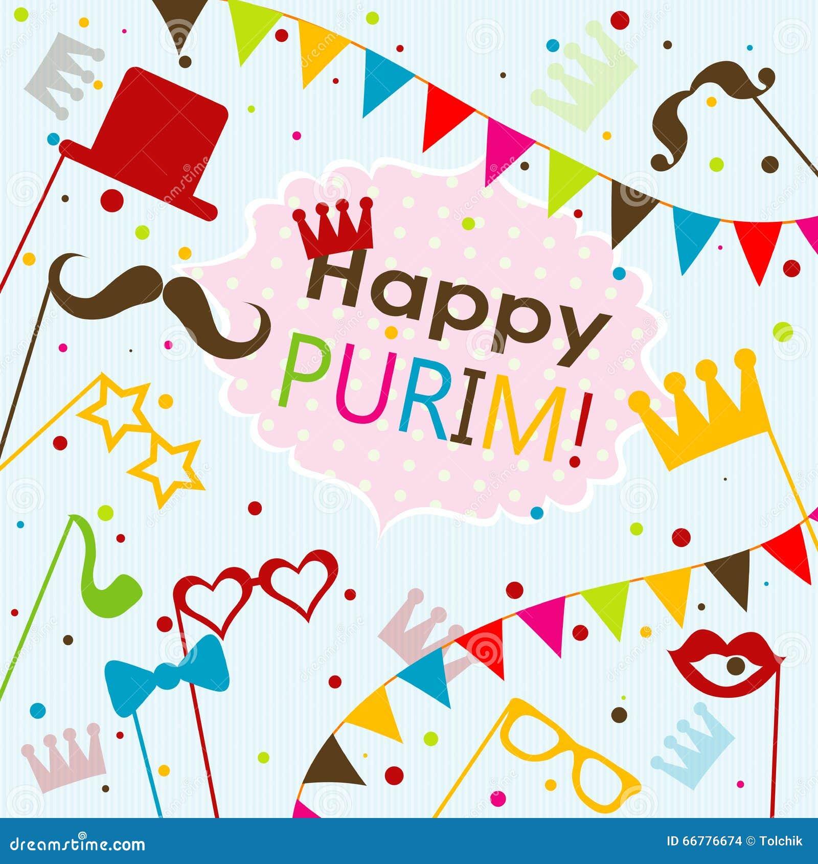 Template jewish holiday purim greeting card vector stock vector template jewish holiday purim greeting card vector kristyandbryce Images