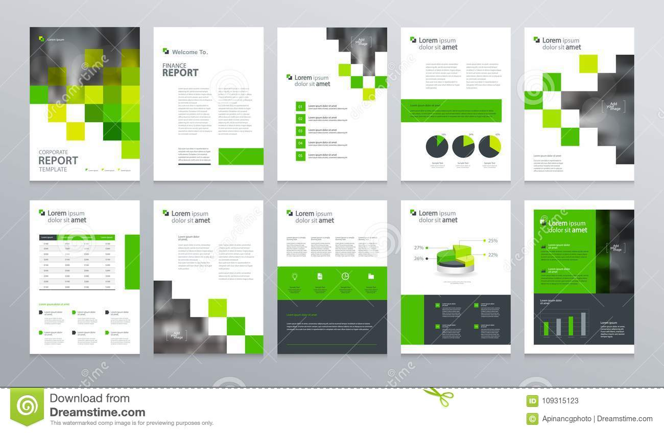 template layout design with cover page for company profile annual report brochures flyers