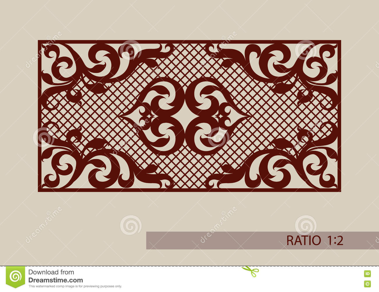 laser engraver templates - the template pattern for laser cutting decorative panel