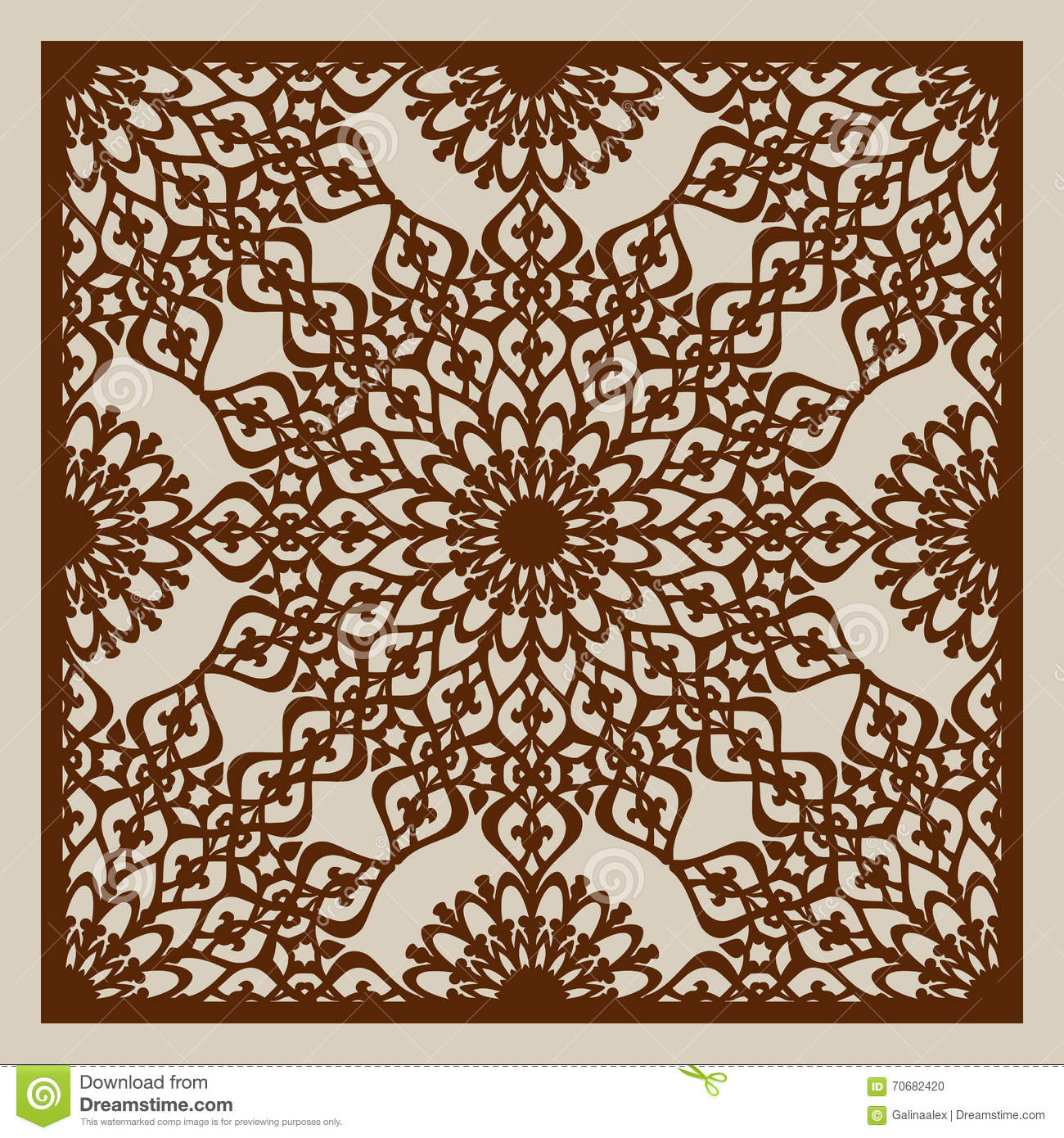 The Template Pattern For Laser Cutting Decorative Panel Stock ... for Laser Cut Designs Paper  66pct