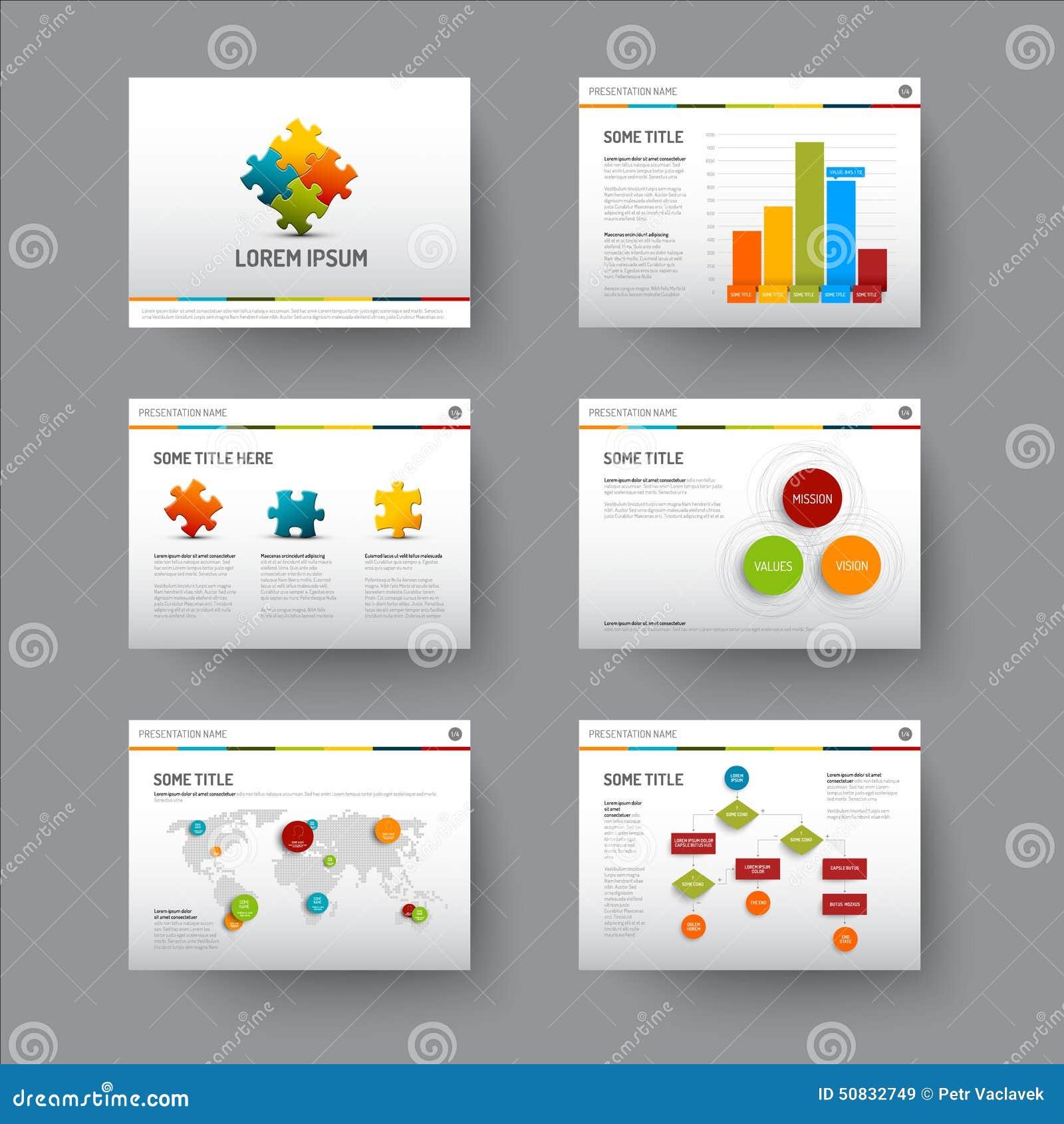 Vector Template Presentation Slides Background Design.info Graphs ...