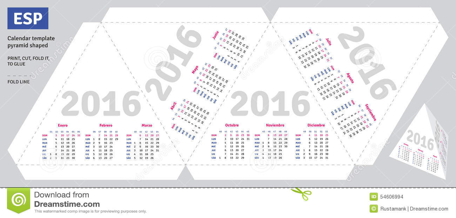 Как сделать календарь на 2016 год своими руками фото