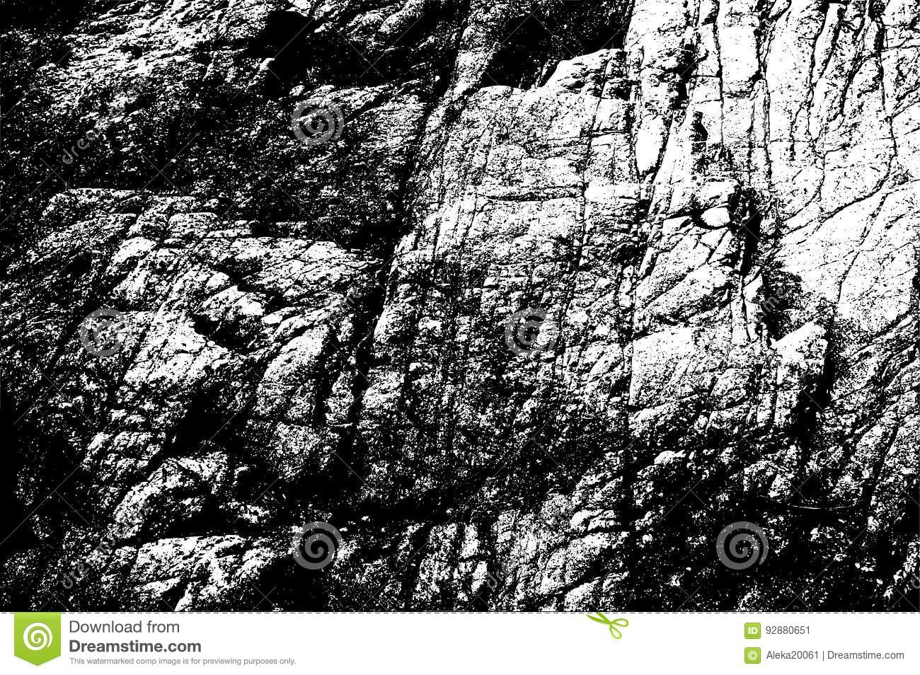 template stone rock hard cracked rough texture stock illustration