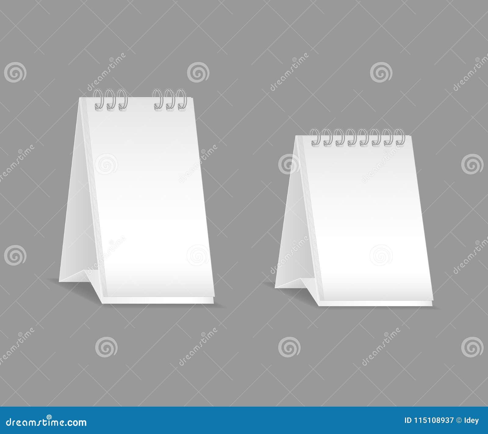 Template, Layout, Beautiful Realistic Notebook. Empty White ...