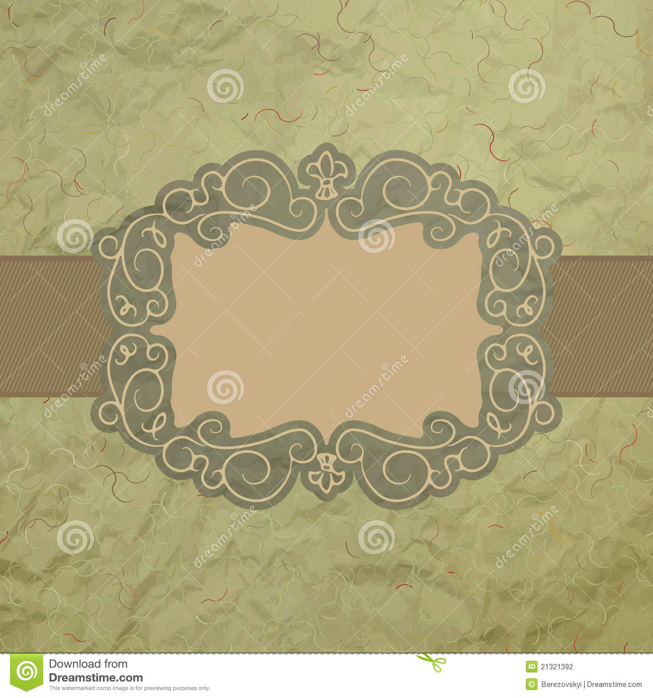 template of vintage worn card eps 8 stock vector illustration of