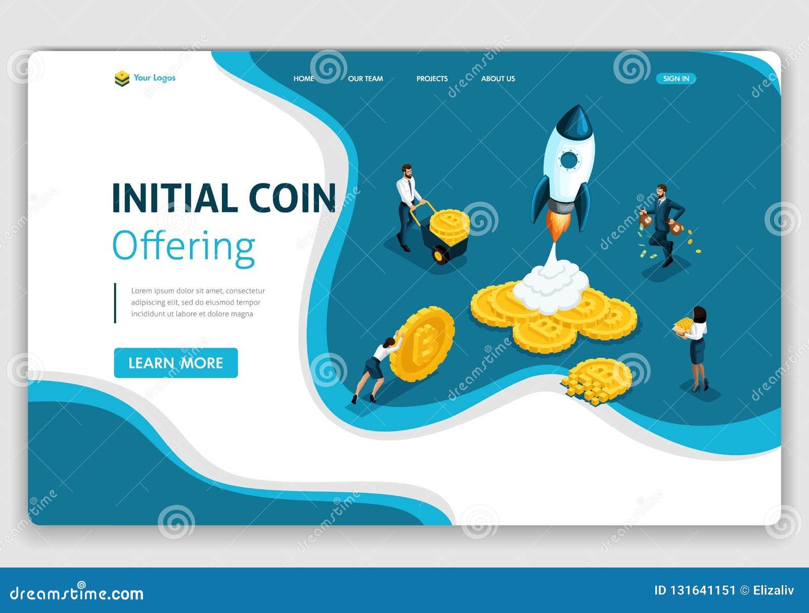 crypto ico website