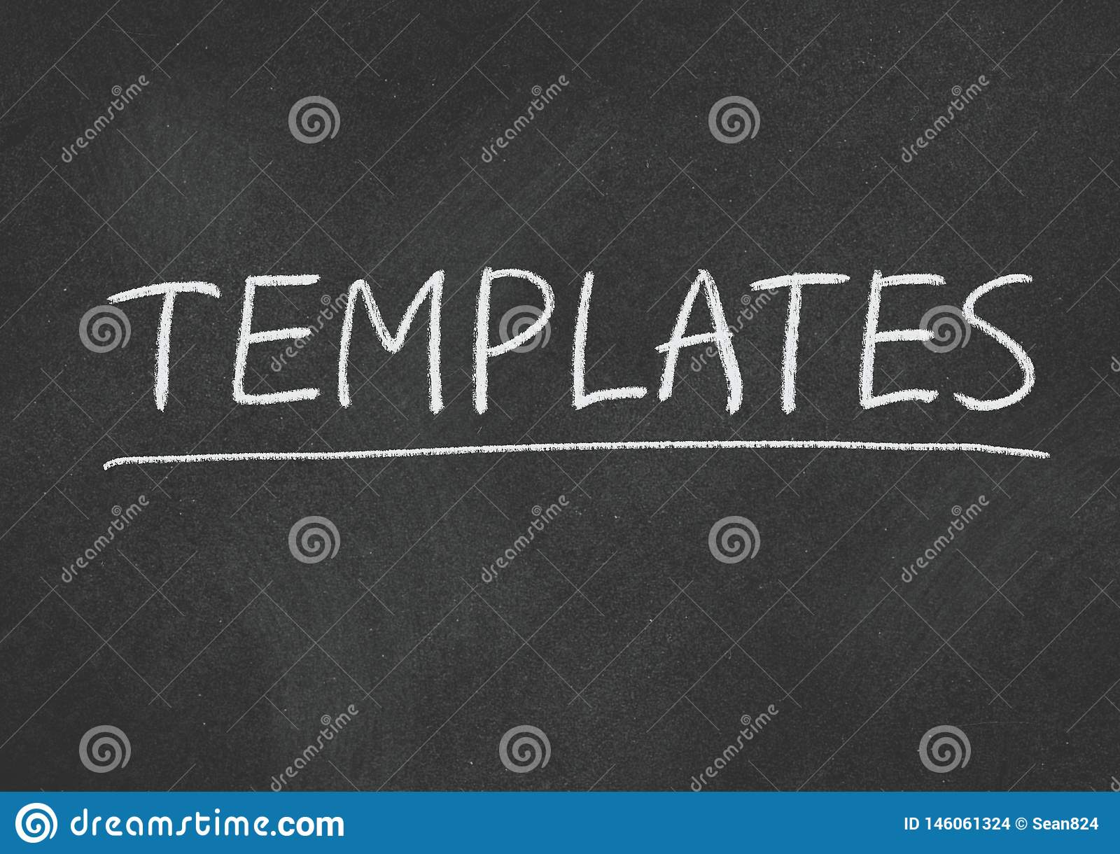 Templates Stock Photo Image Of Abstract Concept Word