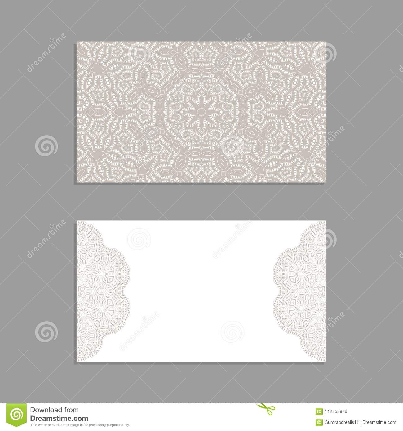 Templates For Greeting And Business Cards, Brochures, Covers With ...