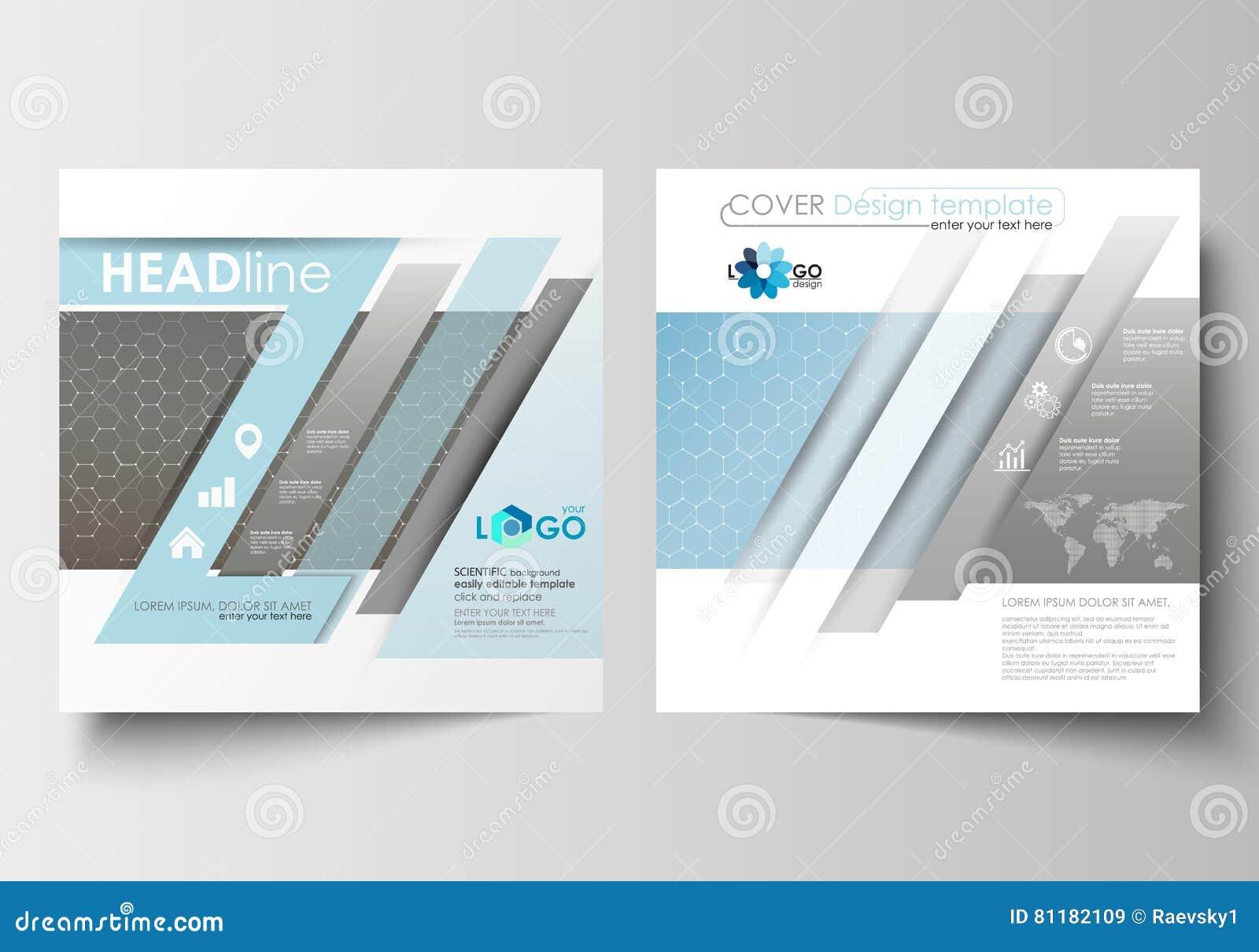 Templates For Square Brochure, Magazine, Flyer, Booklet. Leaflet ...