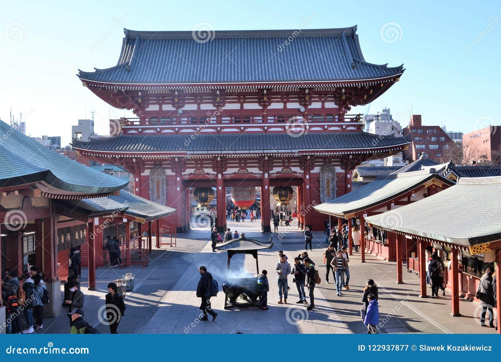 Temple Asakusa Tokyo Japon de Senso-JI