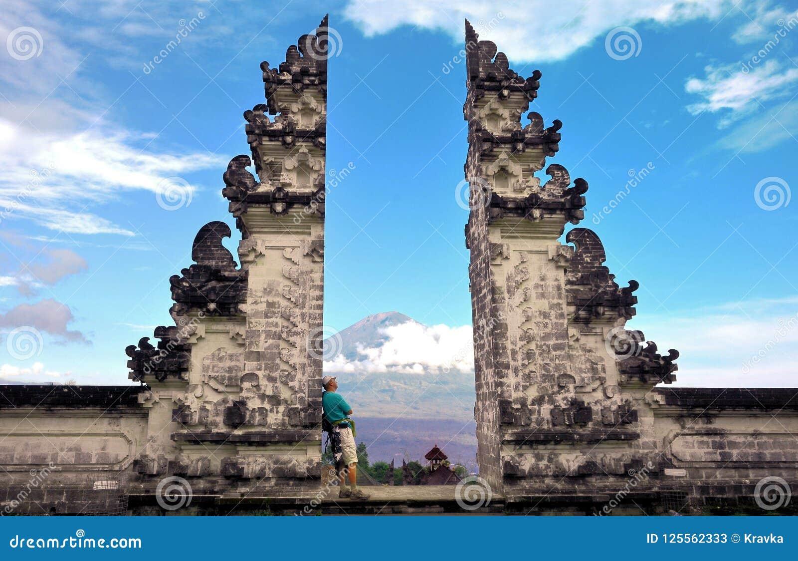 Temple Bali Indonésie de Pura Luhur Lempuyang