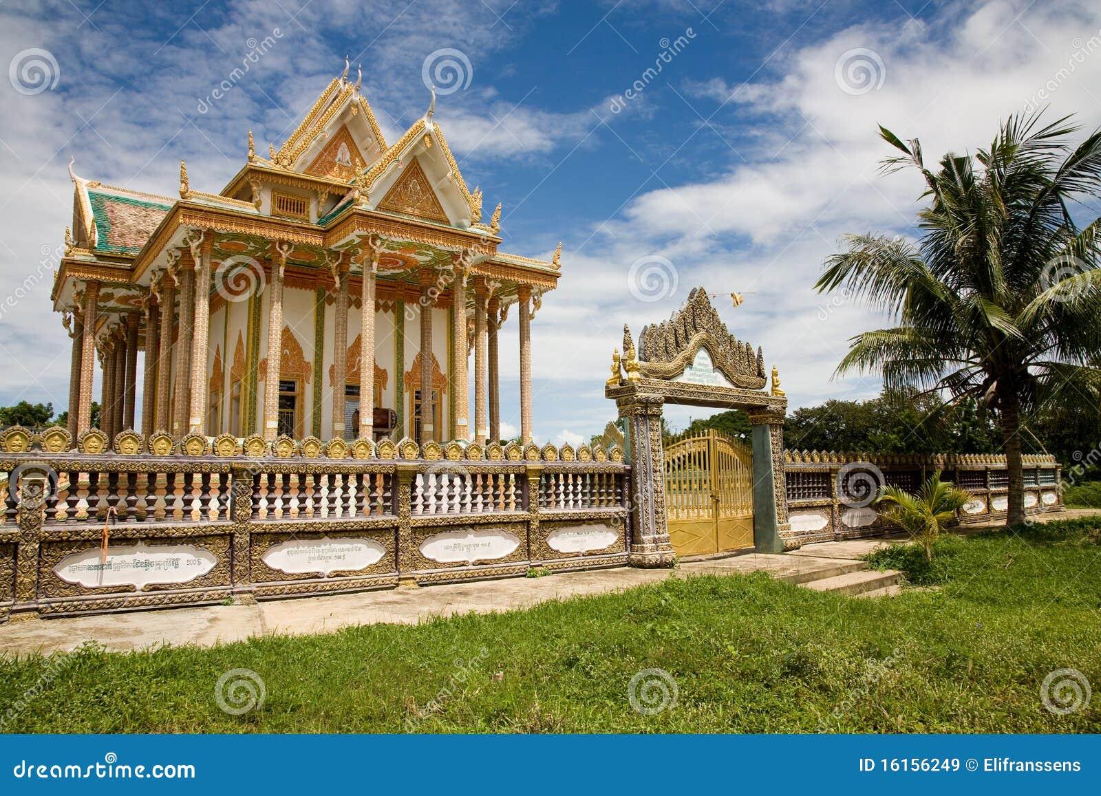 Temple, Battambang, Cambodia