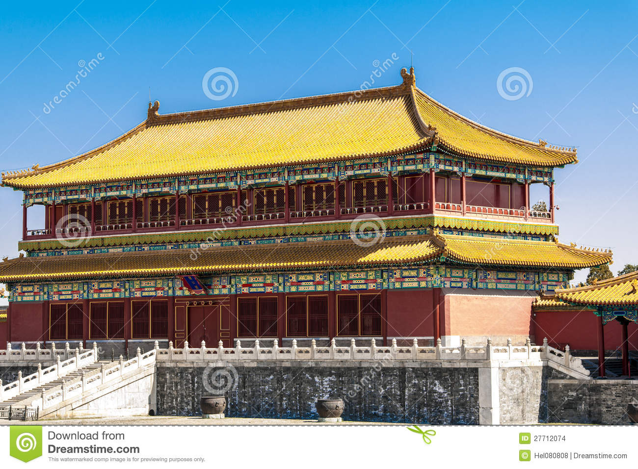Temple in Beijing, China