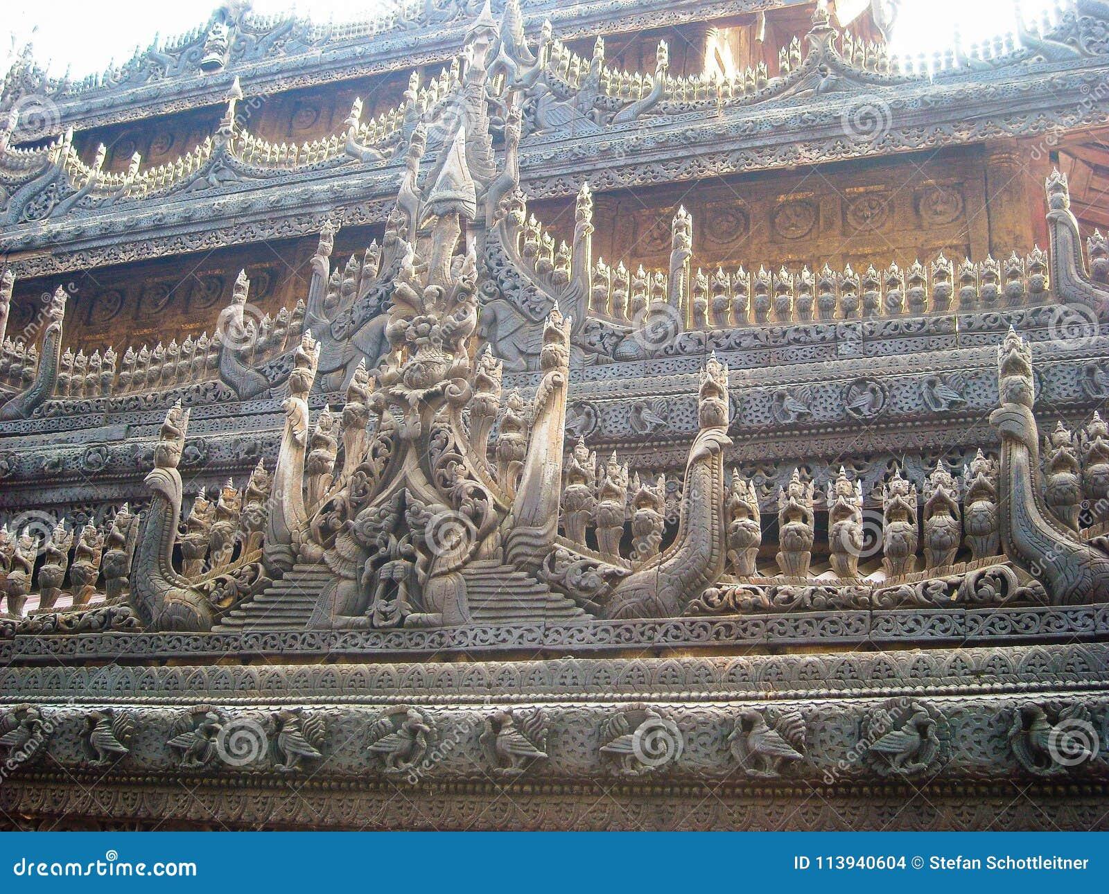 A temple in burma