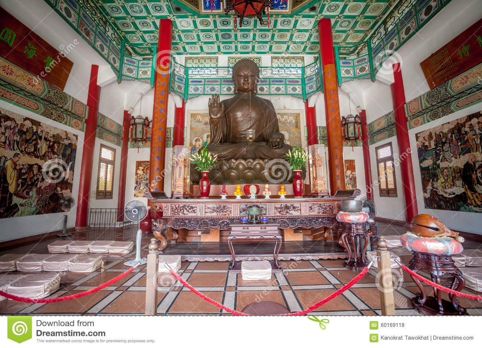 Temple chinois au Macao