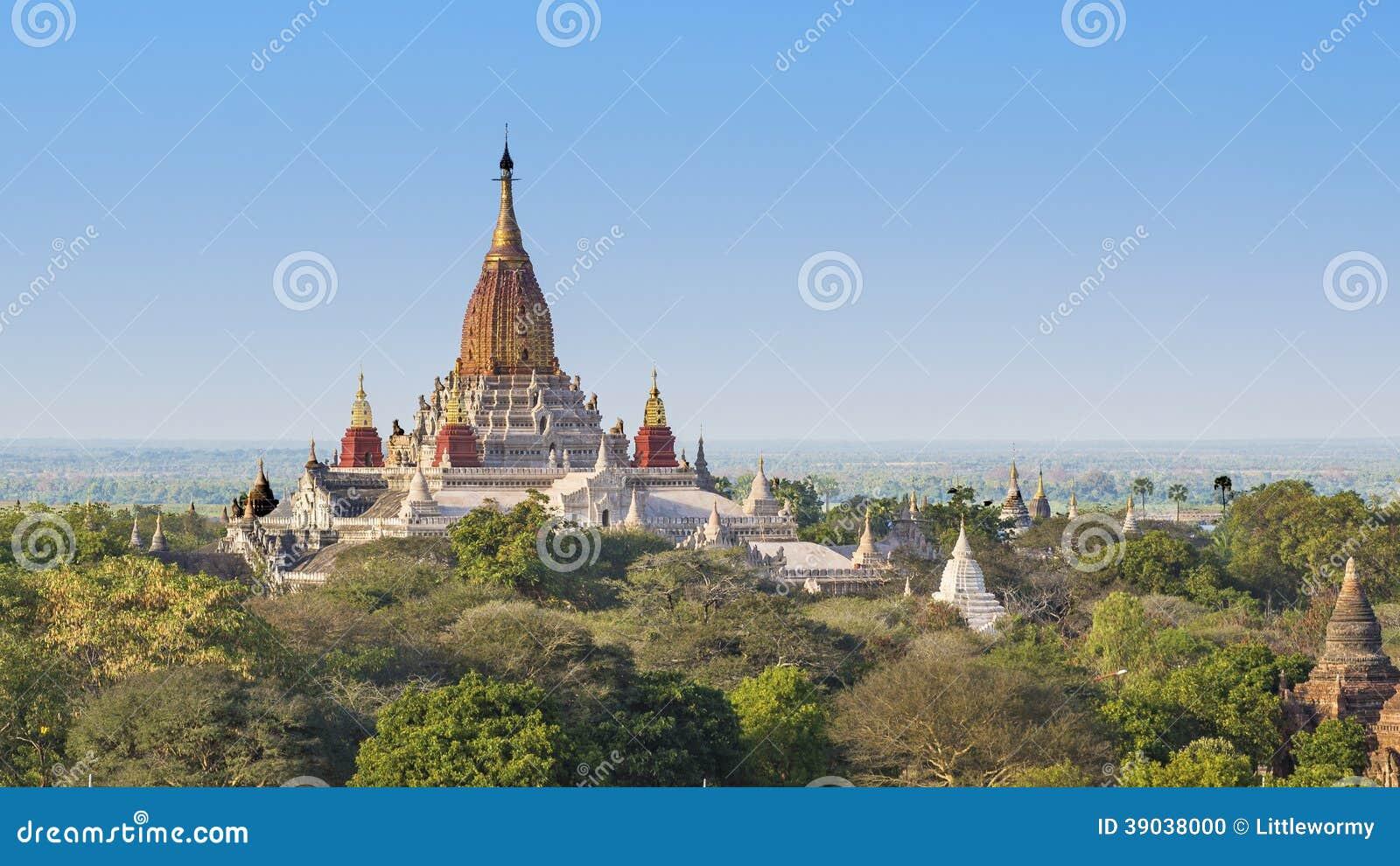 Temple d Ananda, Bagan