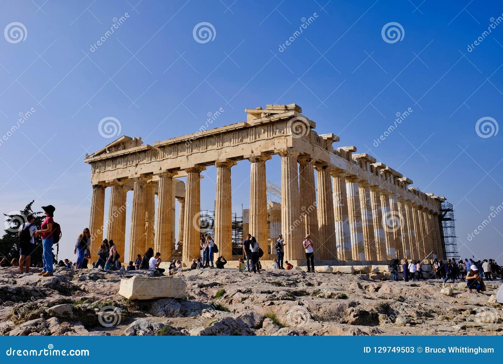 Temple d Athéna, le parthenon, Athènes, Grèce