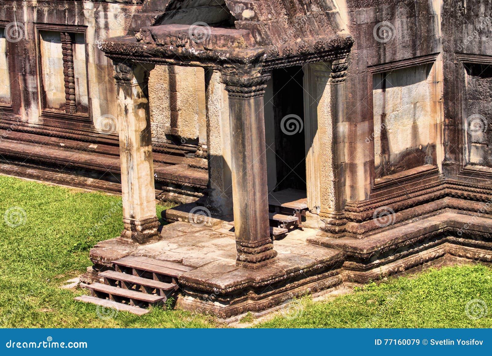 Temple dans Angkor Vat
