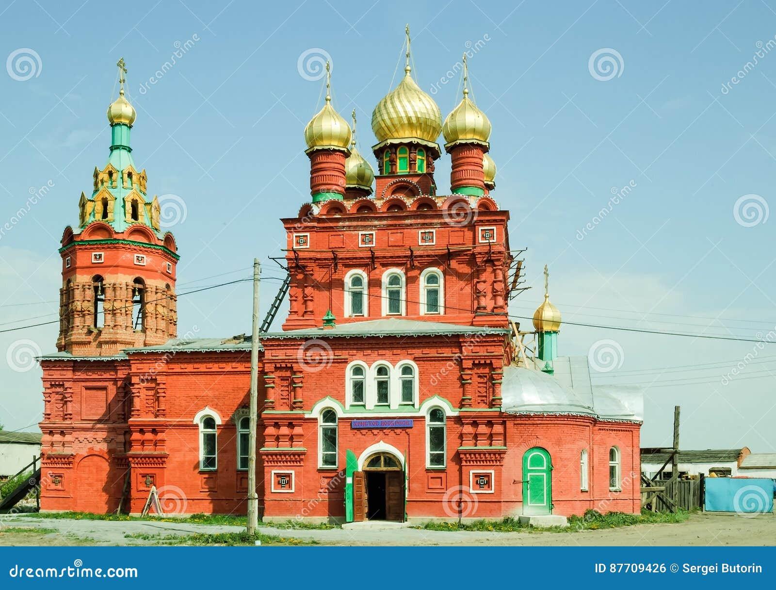 Temple dans l intéret du saint Nikolay Chudotvorts