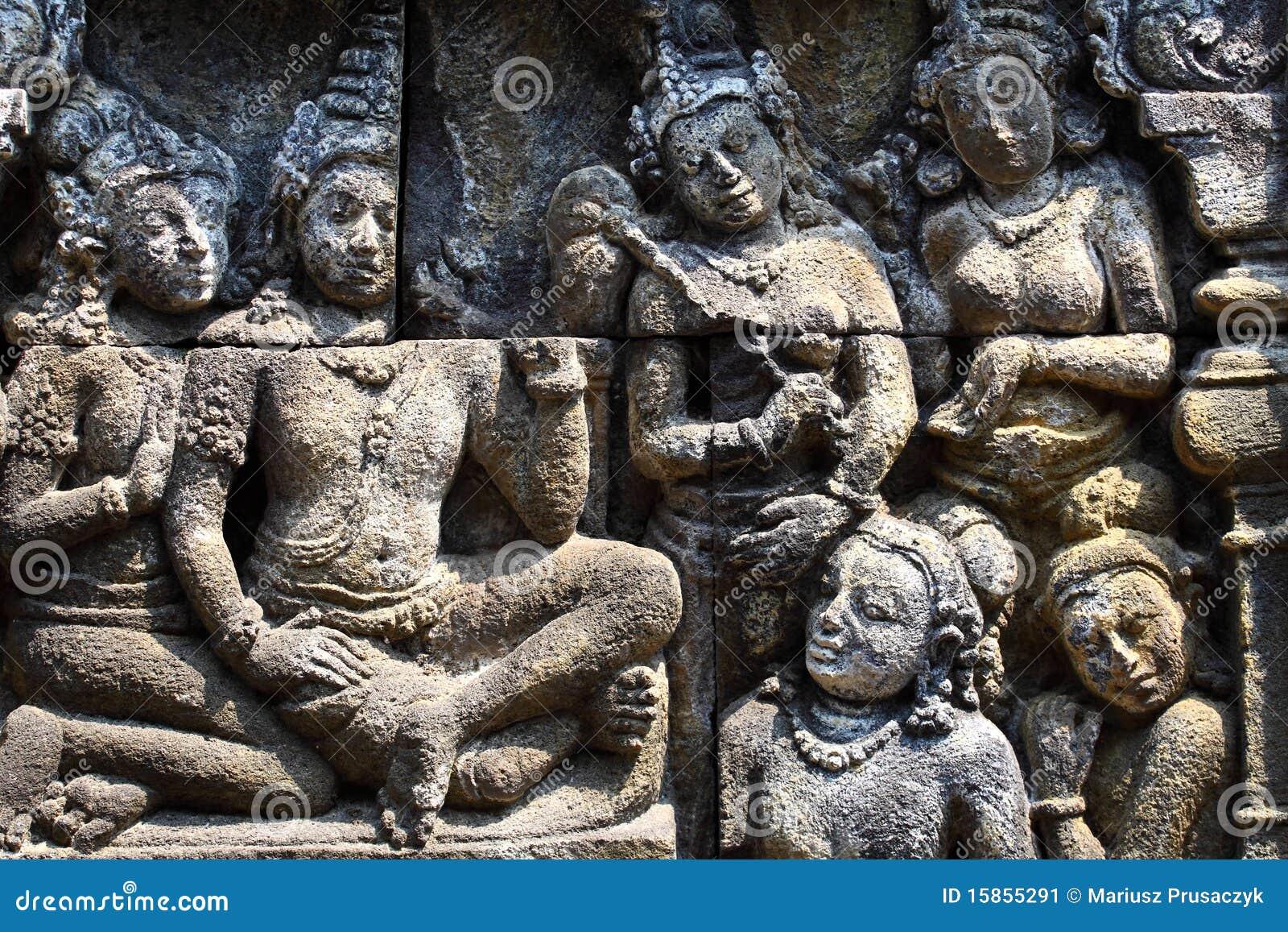 Temple de Borobudur, Yogyakarta, Java, Indonésie
