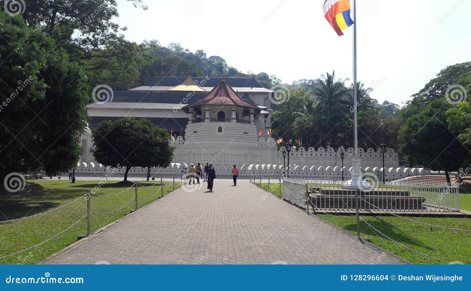 Temple de dent Kandy Sri Lanka