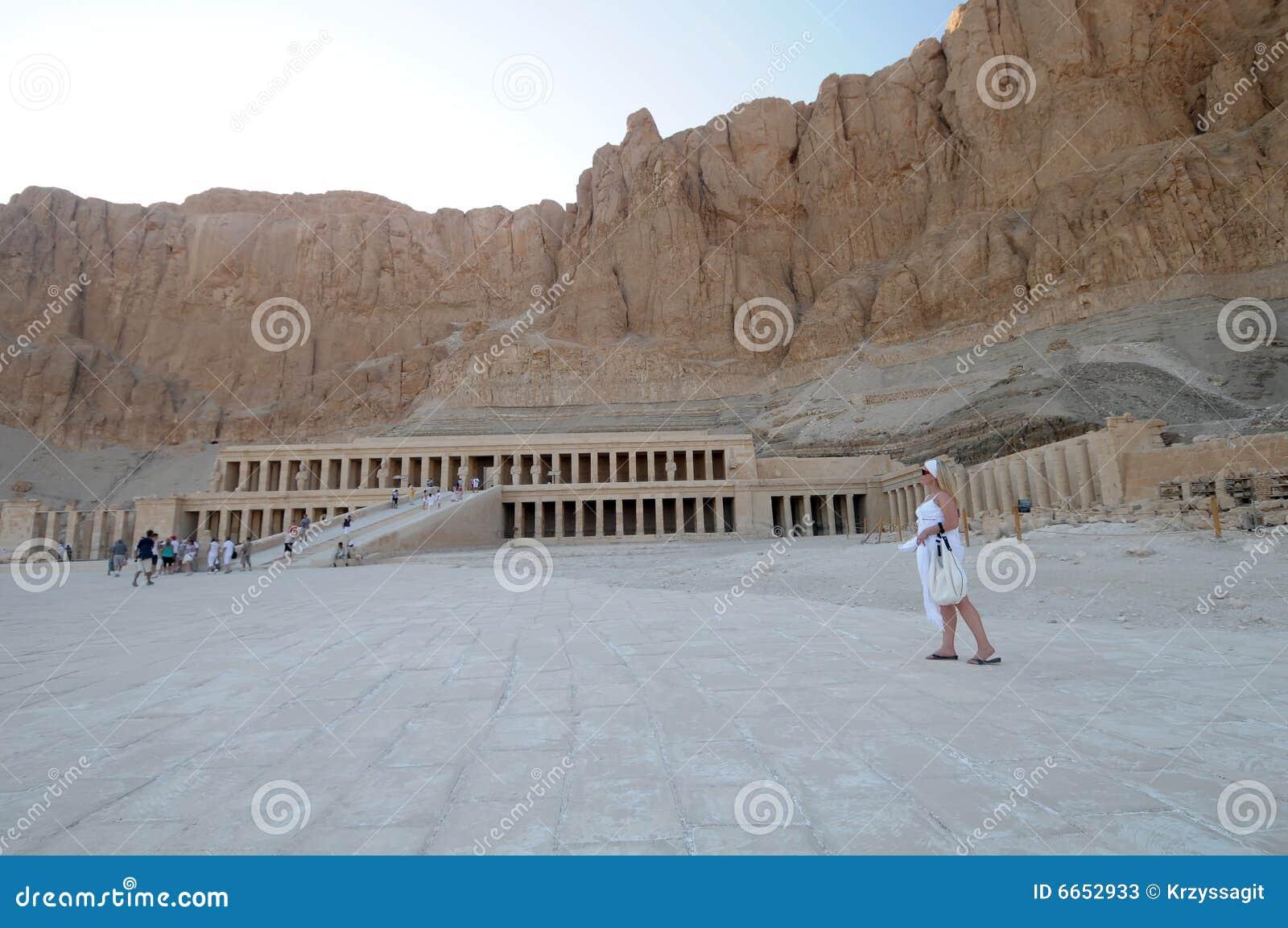 Temple de hatshepsut de l Egypte