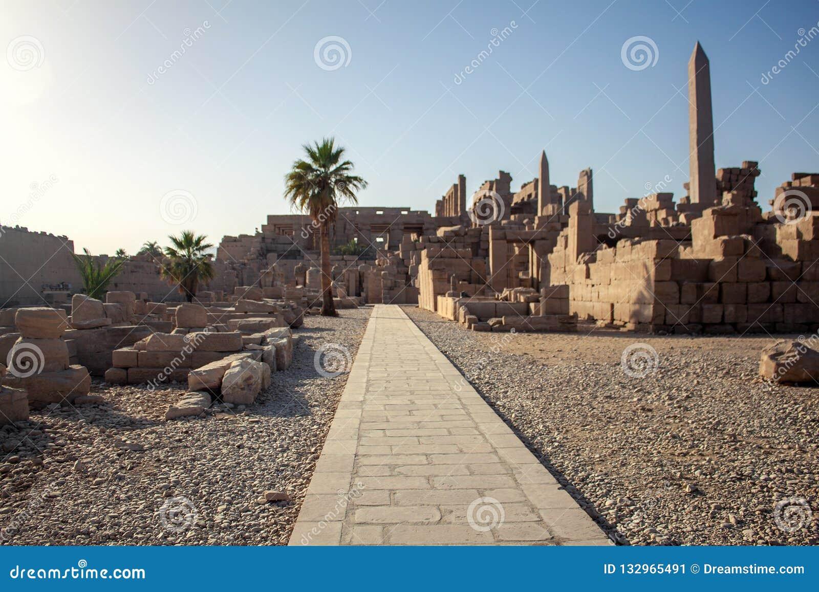 Temple de Karnak à Luxor, Egypte