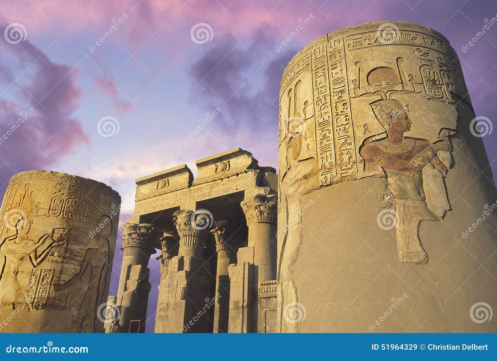 Temple de Kom-Ombo sur le Nil, Eygpt