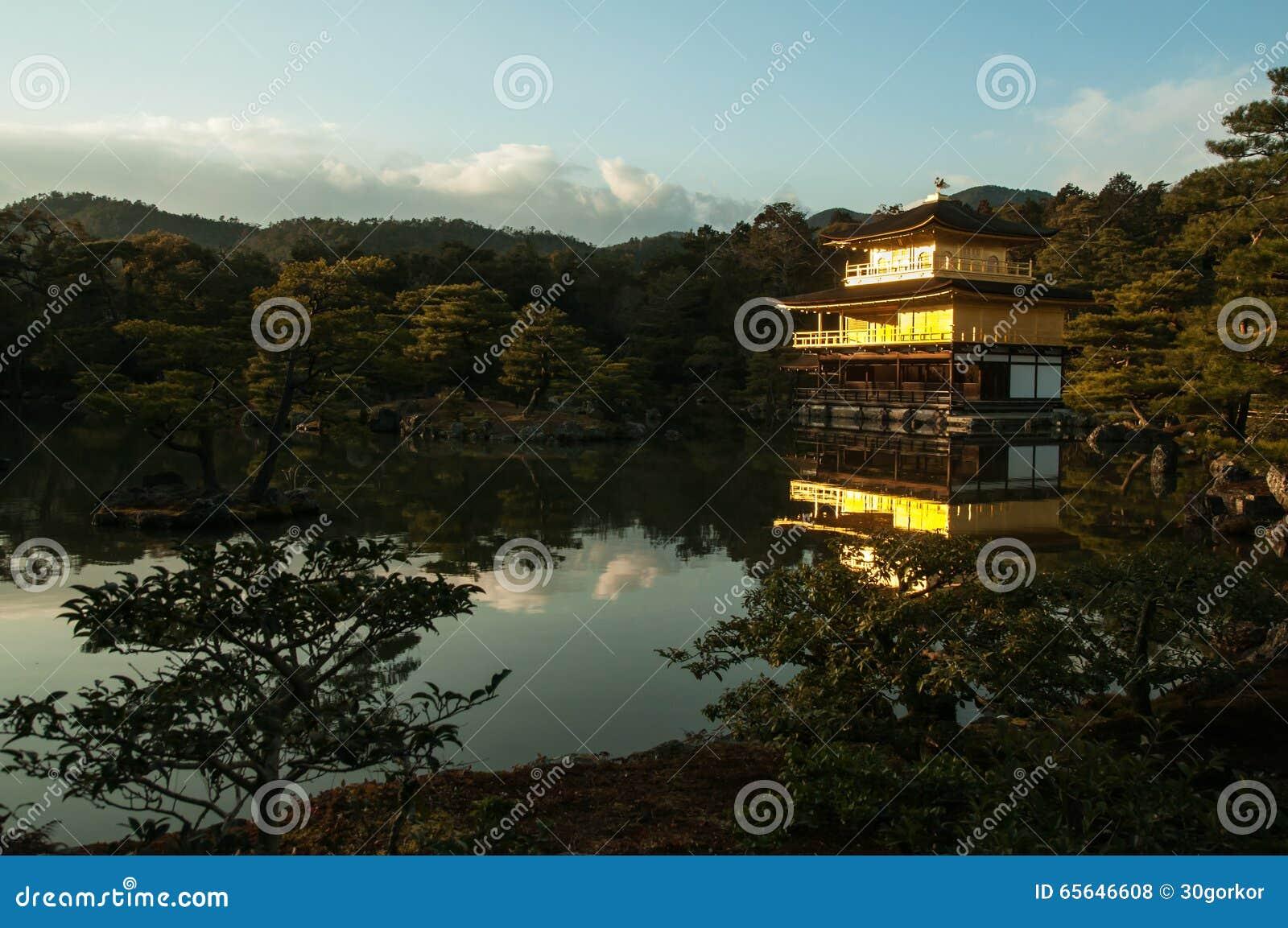 Temple de Kyoto de kinkakuji du Japon