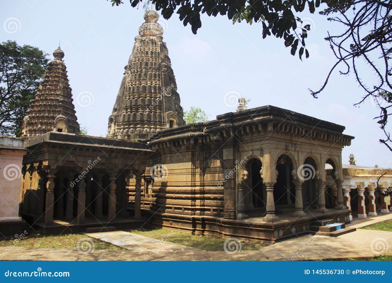 Temple de Lord Shiva chez Panchganga Ghat Kolhapur, maharashtra