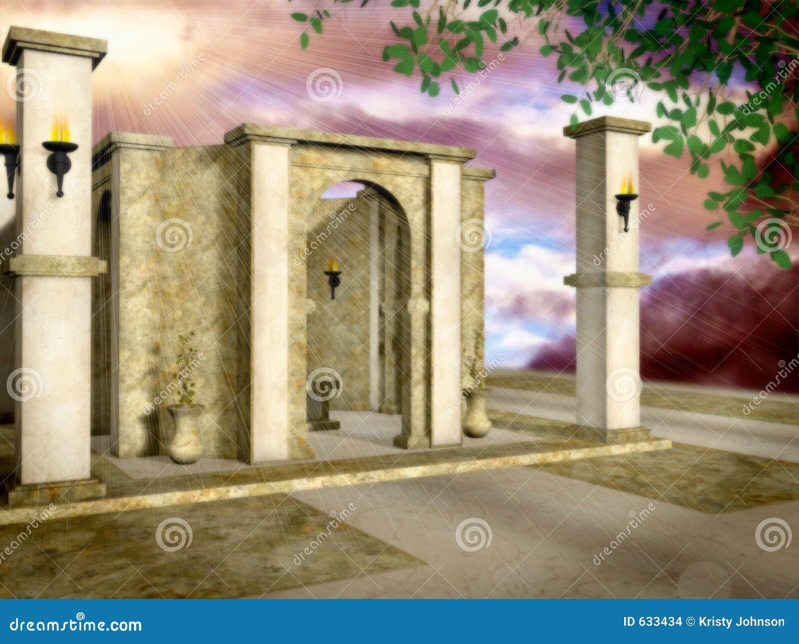 Temple de The Sun
