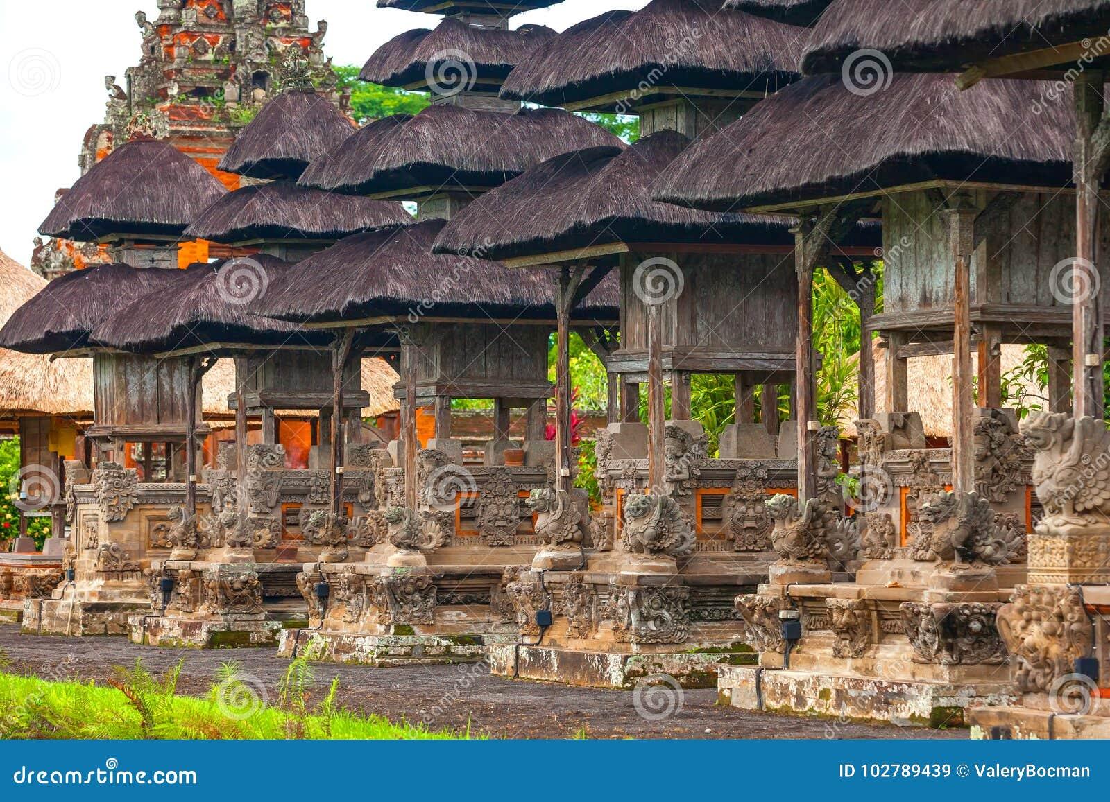 Temple de Taman Ayun d empire de Mengwi, régence de Badung, Bali, Indone