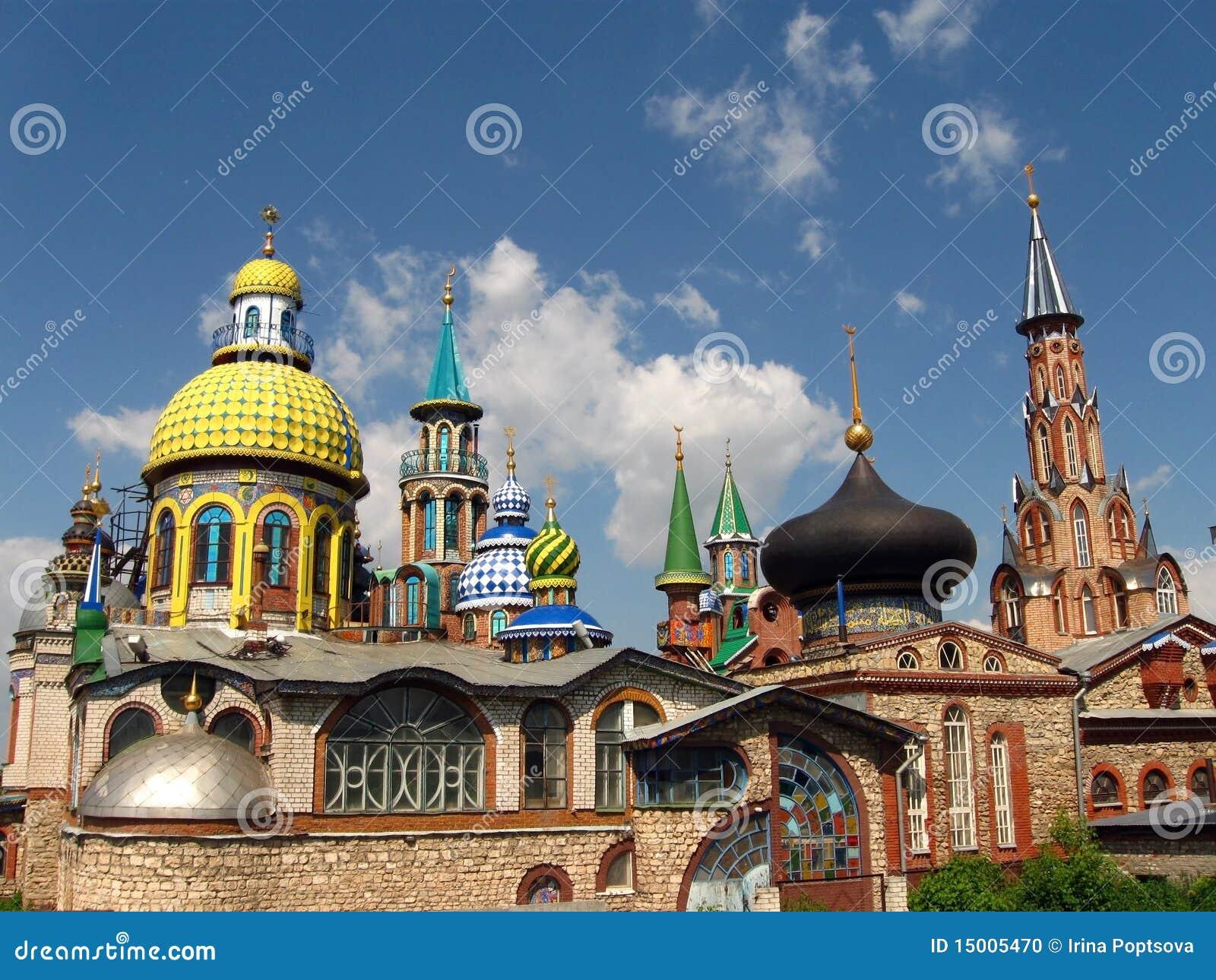 Temple de toutes les religions.