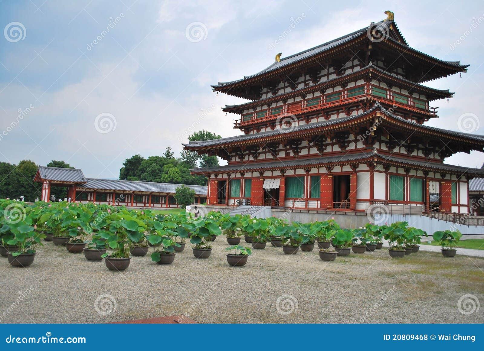 Temple de Yakushi au Japon