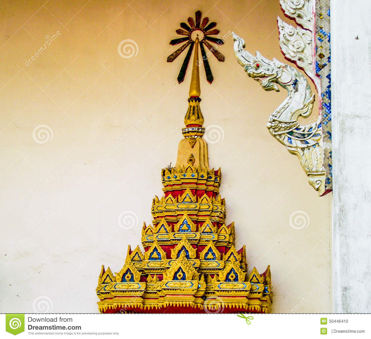 Temple decorations stock photo image 50446410 for Common architectural styles