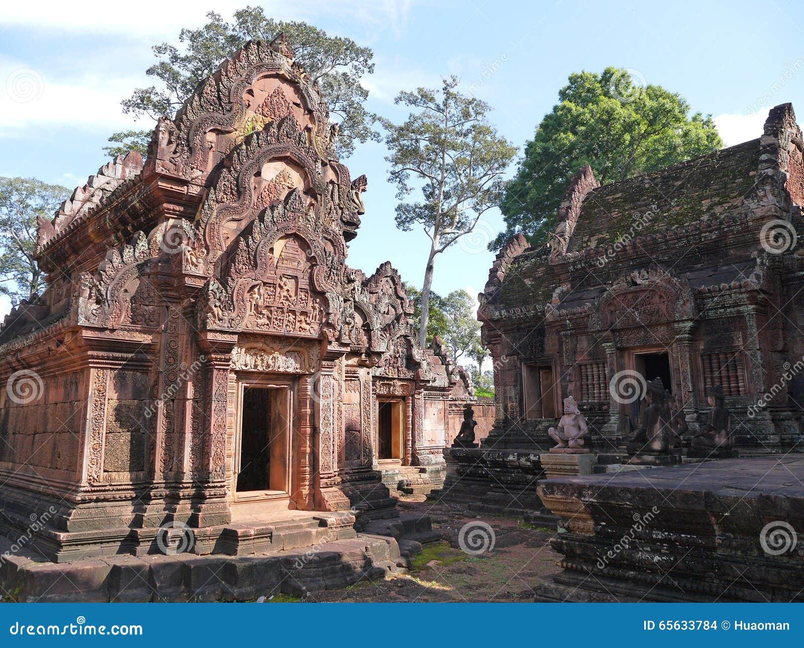 Temple des femmes Banteay Srei, Cambodge