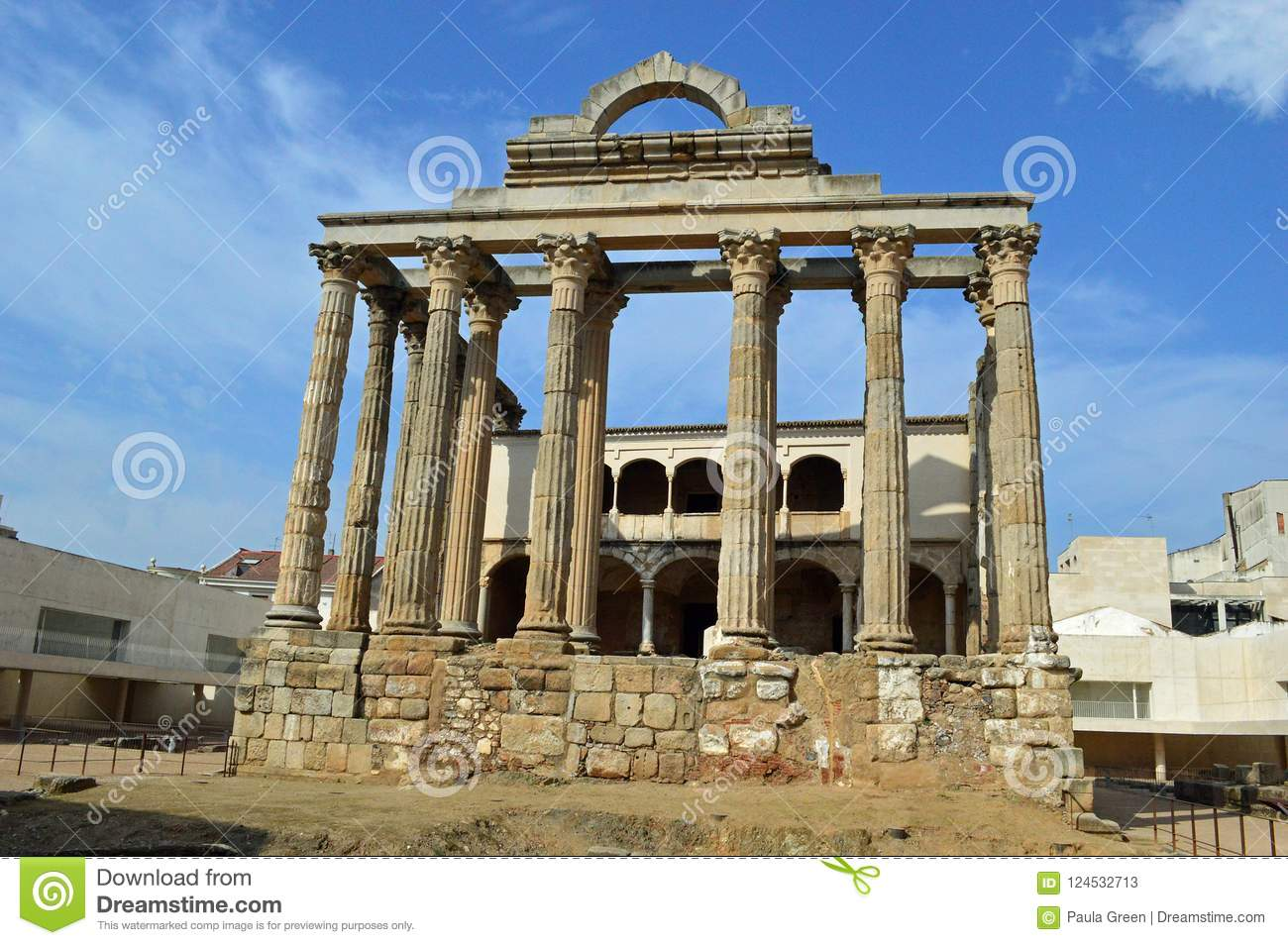 Temple of Diana, Merida Spain