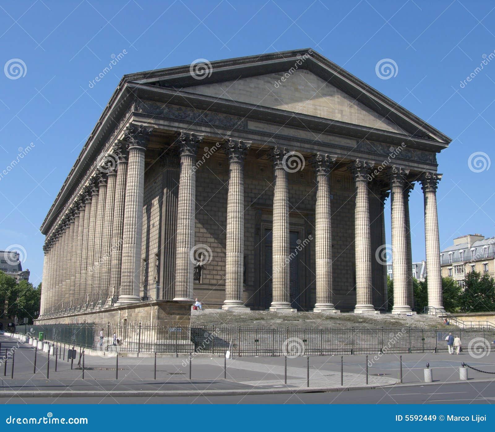 Temple grec images libres de droits image 5592449 for Architecture grec