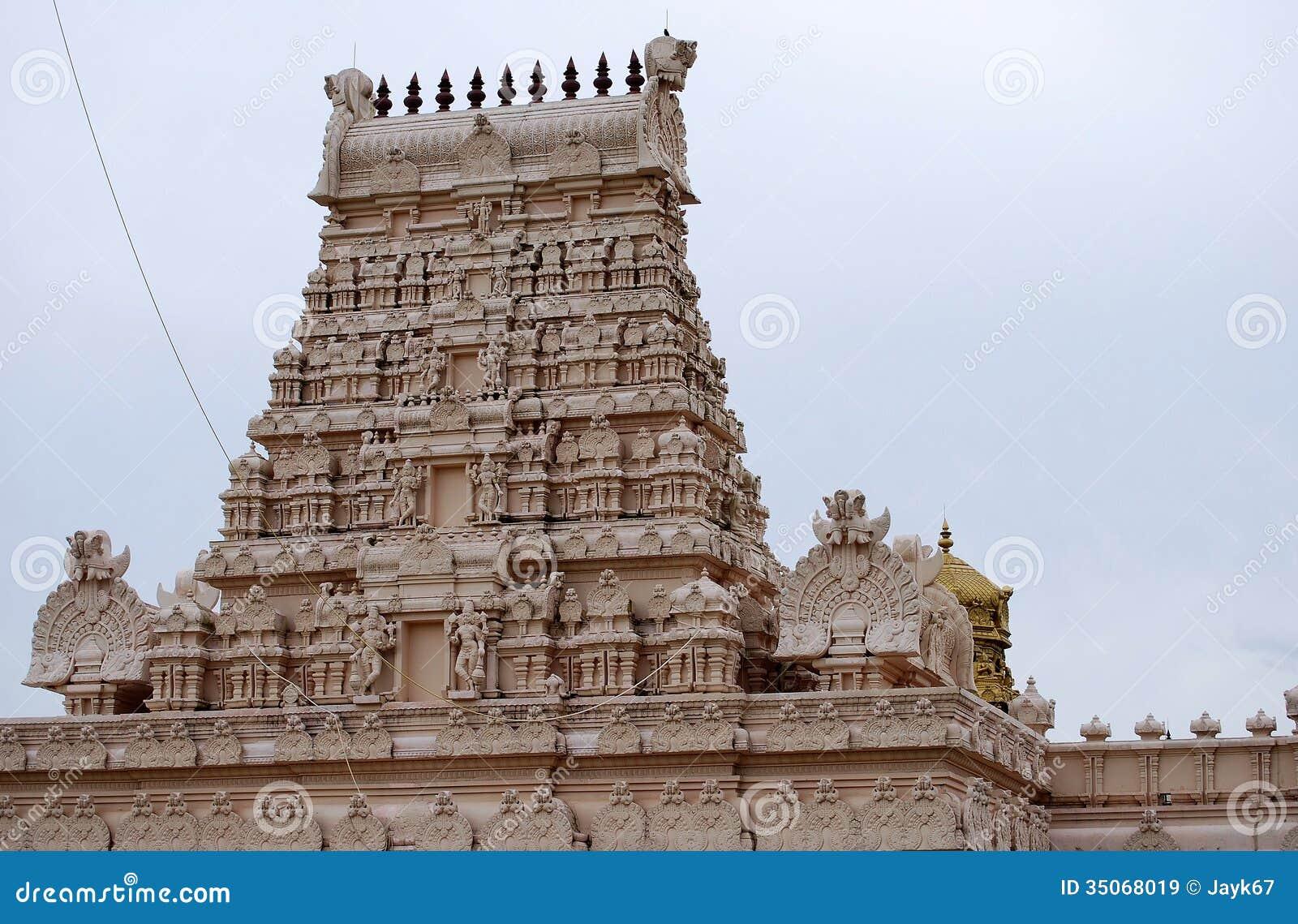 Temple hindou indien