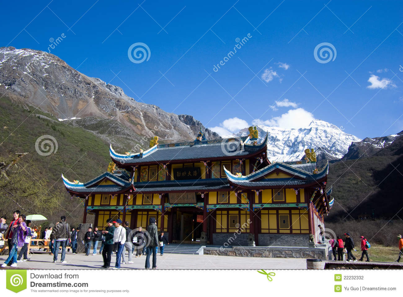 Temple at Huanglong